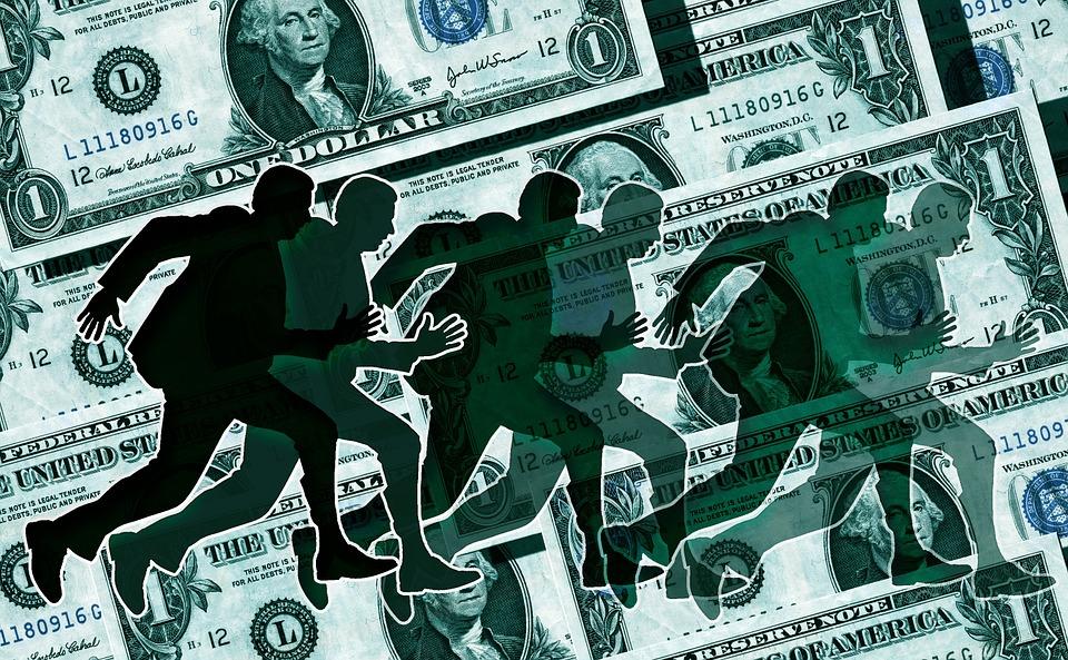 honba za financemi