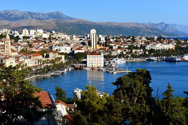 přístav ve Splitu