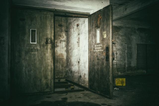 děsivý výtah