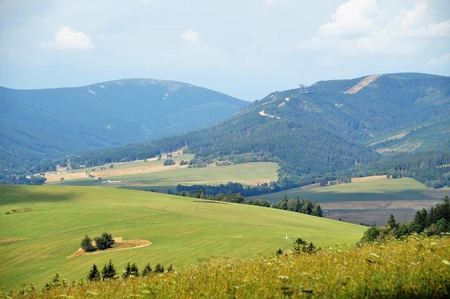 výhled na Dolní Moravu