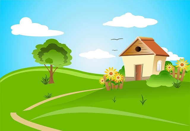 ilustrace domu