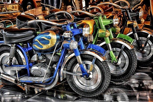 Motocykly, tuning, hobby